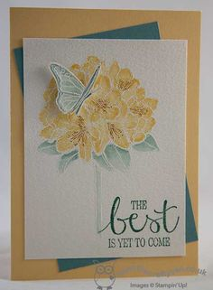 The Crafty Owl | Best Thoughts Watercolour Card