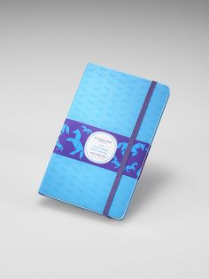 Moleskine Year of the Horse ruled notebook in blue