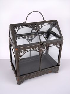 Metal Terrarium with Glass $29.99
