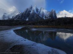 Fotografía Kapura 6544m,Fathi Brakk,Nemachar 6325m.. por Rizwan Saddique en 500px