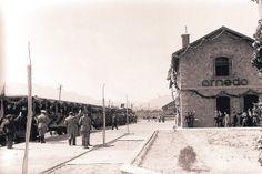 Reinauguración de la estación de Arnedo en 1942.(Foto Fermín de Blas)