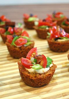 BLT Poppers -- A delicious appetizer to try at your next summer get-together. Recipe and photo by blogger, Glenda Embree, of www.busy-at-home.com