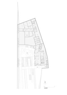 Byblos Town Hall,Basement Plan