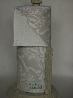 An alternative. Snapping UnPaper Towels - Gray Damask