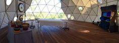 maison geodesique - salon de massage