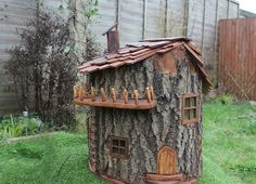 Olliewood's custom fairy houses are a welcoming handcrafted home for enchanted creatures | Inhabitots