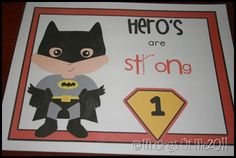 Great activity ideas for a super hero party. Kids have to complete each training task to become a super hero and get their special super hero ID.