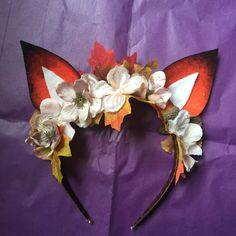Layla Fox Crown Blossom by AuroraFawn on Etsy