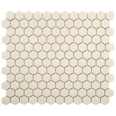 Merola Tile Gotham Hex Antique White 10-1/4 in. x 12 in. x 5 mm Porcelain Unglazed Floor and Wall Tile (8.54 sq. ft. / case)-FXLGHWT at The Home Depot