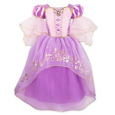 NWT Disney Store Rapunzel Costume Gown Dress Princess Tangled The Series - Ideas of Disney Dress Rapunzel Costume, Rapunzel Dress, Tangled Rapunzel, Princess Rapunzel, Costume Dress, Princess Dresses, Robes Disney, Disney Princess Costumes, Disney Dresses