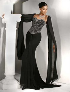long sleeve formal dresses plus size | Evening formal long dress long sleeves in Womens Dresses