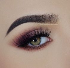 Purple & Brown Eyeshadow with Black Mascara - Modern Renaissance Palette (Warm Taupe, Love Letter, Tempera, Realgar, Cyprus Umber) Lashes: Faux Mink Lashes in style Sapphire Makeup Goals, Makeup Inspo, Makeup Inspiration, Makeup Tips, Beauty Makeup, Hair Makeup, Hair Beauty, Modern Renaissance Looks, Modern Renaissance Palette