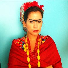 101 Costumes to DIY on the Cheap Frida Kahlo