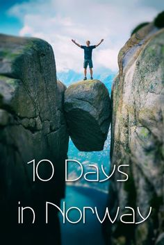 The best 10 day Norway itinerary, especially for hiking and outdoor activities…