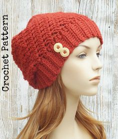 CROCHET HAT PATTERN Instant Download Pdf Blaire by AlyseCrochet