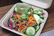 The best salad in Toronto is for those who run light and lean, who know that just because food is fuel doesn't mean it can't also be delicious. Best Vegetarian Restaurants, K Food, Food Stands, Rabbit Food, Cobb Salad, Toronto, Veggies, Lunch, Healthy Recipes
