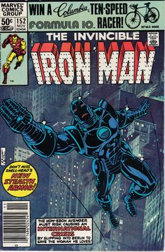 Iron Man 152 November 1981 Issue  Marvel Comics  by ViewObscura