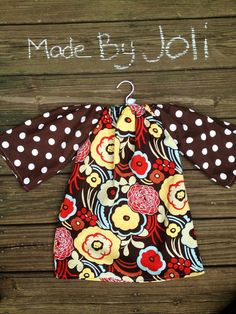 Fall thanksgiving toddler peasant dress on Etsy, $28.00