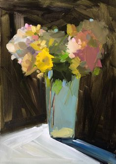 amy brnger art and paperworks. Flower, landscape, food and interior oil paintings. Flower calendars and note cards. Sunflowers And Roses, Yellow Daisies, Tulips, Purple Mums, Purple Roses, October Bouquet, Abstract Ocean Painting, Roses Valentines Day, Lilac Bouquet