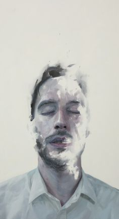 "Saatchi Online Artist: Henrik Uldalen; Oil, Painting ""No title"" #Art #Artwork"
