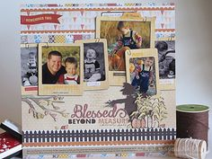 Thud! Amazing layout. Made by Nichol Magouirk. Lots of stamps from TechniqueTuesday.com, including the Sept. 2012 Studio AE set.