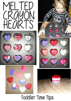 heart crayon stack Toddler TIme Tips @ https://www.facebook.com/toddlertimetips Toddler Time Tips.Kids crafts, projects and avtivities posted daily.  Ideas for parents, grandparents and childare workers @ https://www.facebook.com/toddlertimetips