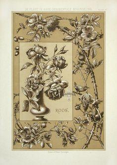 Van Grieken Antique Graphic Design and Graphic Art prints