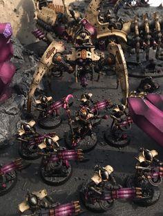 Warhammer 40k Necrons, Warhammer Figures, Warhammer Paint, Warhammer Models, Warhammer 40k Miniatures, Paint Schemes, Colour Schemes, The Black Library, Dark Eldar