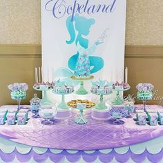 How freaking gorgeous is this #mermaid party?! By Monique from @bashpartystyling . . Que hermosura de fiesta no lo crees?! Es de Monique de @bashpartystyling #kidsparties #instacute #loveparties #cute #love #mermaids #girlparty #party #partyplanner #letsparty #regram #sirenita #fiestas #bestoftheday #instaawesome #wow #pretty #littlemermaid