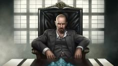 Love this Scarface rendition of Heisenberg from Breaking Bad