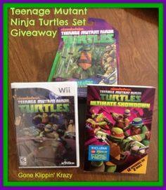 Teenage Ninja Turtle Wii Game & More Giveaway ends 1/17