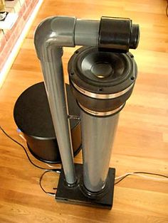 My Pluto loudspeakers with subwoofer. Design Siegfried Linkwitz.