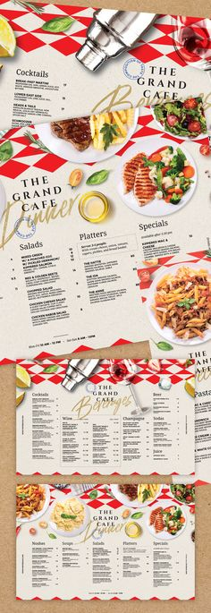 Buy Restaurant Menu by BigWeek on GraphicRiver. Restaurant Food and Drinks Menu Template Size: mm) with 3 mm bleed Tabloid with bleed Half . Restaurant Menu Card, Hotel Menu, Restaurant Poster, Restaurant Menu Design, Cafe Menu, Restaurant Recipes, Cafe Food, Restaurant Bar, Drink Menu Design