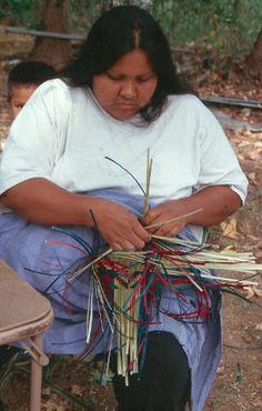 Choctaw Basket Maker