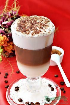 Focaccia Bread Recipe, Latte Macchiato, Milkshake, Panna Cotta, Dessert Recipes, Food And Drink, Ice Cream, Chocolate, Cooking