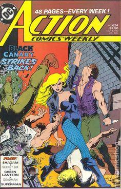 Action Comics (1938 DC) 624 Black Canary