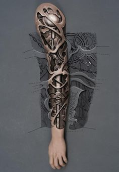 biomech sketch tattoo - benten tattoo chemnitz www. - biomech sketch tattoo – benten tattoo chemnitz www. Cyborg Tattoo, Biomech Tattoo, Biomechanical Tattoo Design, Badass Tattoos, Body Art Tattoos, Hand Tattoos, Cool Tattoos, Gear Tattoo, 4 Tattoo