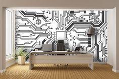 Technologiczne-rozwiazanie-do-biura-fototapety
