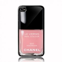 Tendresse Chanel Nail Polish  iphone 5 case