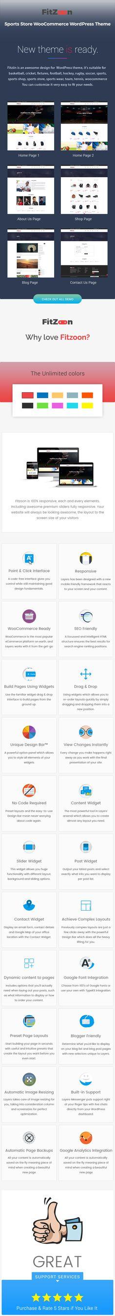 Download Fitzone – Sports Store WooCommerce WordPress Theme (WooCommerce)