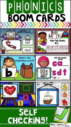 $16 · This is a Digital Phonics NO PREP Packet. Increase reading skills in your kindergarten and first grade literacy centers. Digital practice for beginning sounds, ending sounds, vowel sounds, word… More Kindergarten Readiness, Kindergarten Teachers, Elementary Teacher, Elementary Education, Literacy Stations, Literacy Centers, Work Stations, Google Classroom, Classroom Ideas