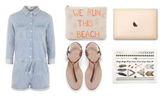 """""""We run this beach"""" by ronniii33 ❤ liked on Polyvore"""