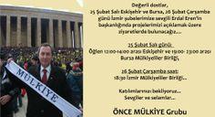 Başkan adayımız Erdal Eren'in Eskişehir, Bursa ve İzmir seçim gezilerinin duyurusu.