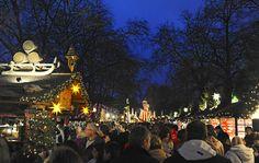 Angels Market at Winter Wonderland, Hyde Park, London