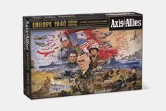 Axis & Allies 1940 Bundle | Exclusive Price and Reviews | https://www.massdrop.com/buy/axis-allies-1940-bundle | Discover more Board Games  on @massdrop | The classic wargame Axis & Allies 1940 has been revamped. Pacific 1940 and Europe 1940 remain conflict-oriented and...