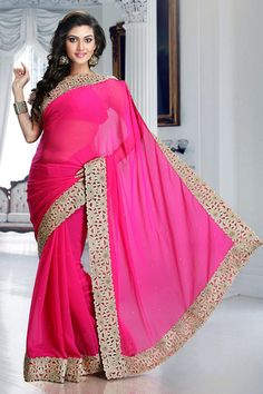 Sarees Online: Shop the latest Indian Sarees at the best price online shopping. From classic to contemporary, daily wear to party wear saree, Cbazaar has saree for every occasion. Latest Indian Saree, Indian Sarees Online, Chiffon Saree, Georgette Sarees, Bollywood Dress, Stylish Sarees, Party Wear Sarees, Saree Wedding, Dress Collection