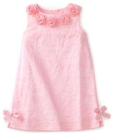 Lilly Pulitzer Girls Little Lilly Shift Rosettes dress Toddler Dress, Baby Dress, Little Girl Dresses, Girls Dresses, Cute Little Baby Girl, Girl Inspiration, Baby Kids Clothes, Cute Outfits For Kids, Baby Sewing