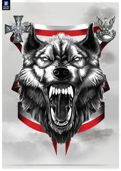 WOLF-CURSED SOLDIERS // WILK-ŻOŁNIERZE WYKLĘCI Wolf Tattoo Sleeve, Knee Tattoo, Sleeve Tattoos, Werewolf Tattoo, Werewolf Art, Wolf Tattoos, Body Art Tattoos, Wolf Tattoo Design, Tattoo Designs