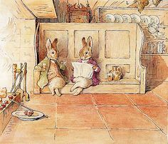From my Beatrix Potter collection. I love anything Beatrix Potter. Bunny Book, Bunny Rabbit, Rabbit Art, Art Hipster, Beatrix Potter Illustrations, Beatrice Potter, Peter Rabbit And Friends, Book Illustration, Woodland Illustration