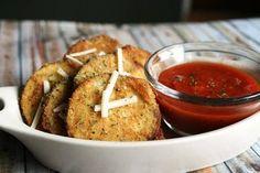 Baked Parmesan Eggplant Chips recipes